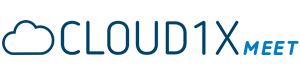 Cloud1X Meet - Video-Konferenzen und Online Meetings